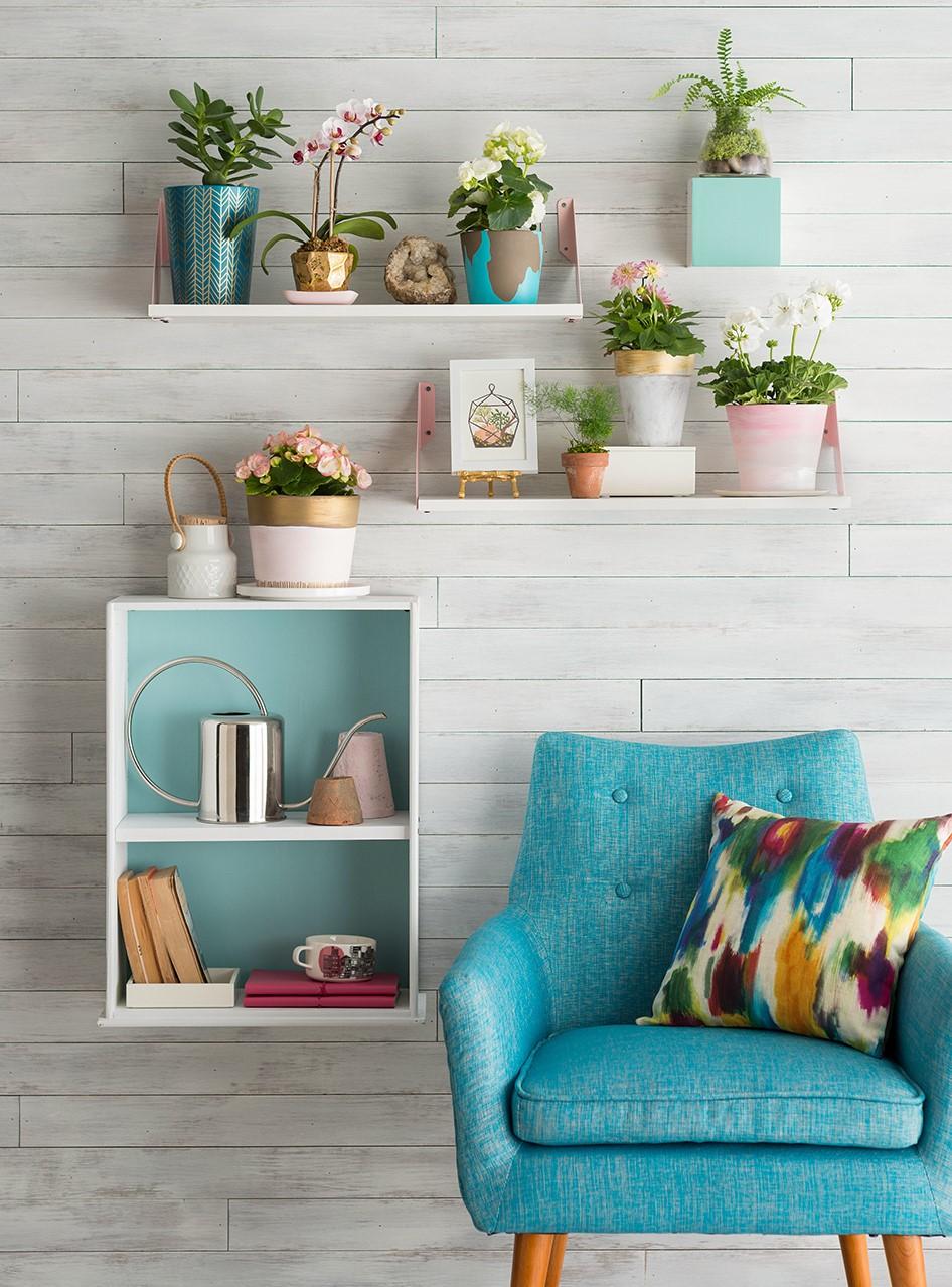 Donnez du caractère à chaque coin en l'embellissant avec quelques plantes.