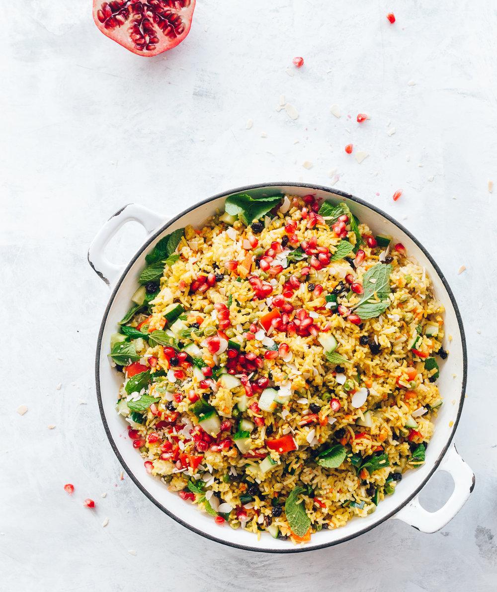 Riz végétarien facile à préparer au Thermomix.