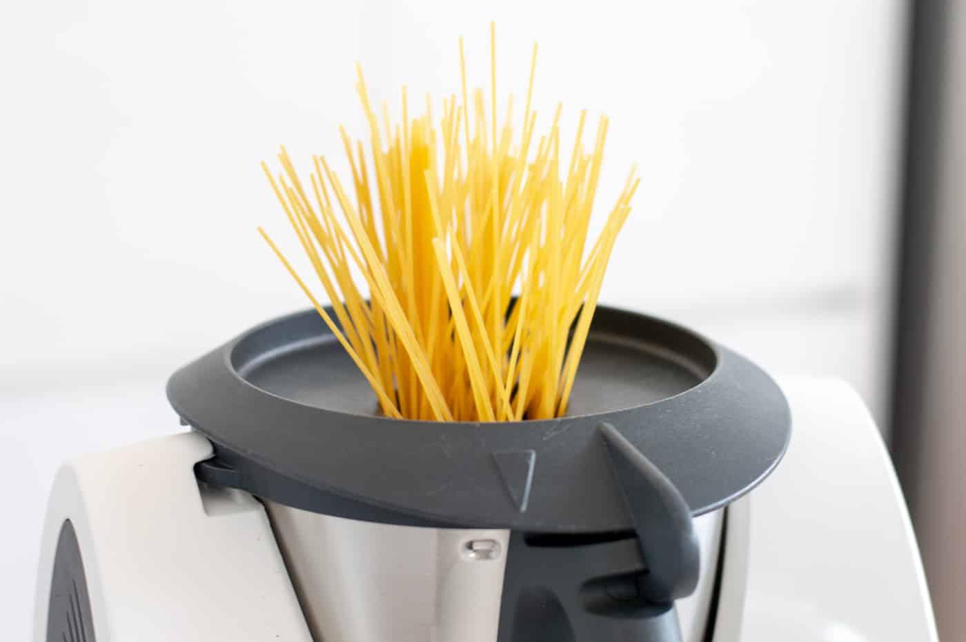 Spaghetti au Thermomix - recette Vorwerk facile à réaliser.