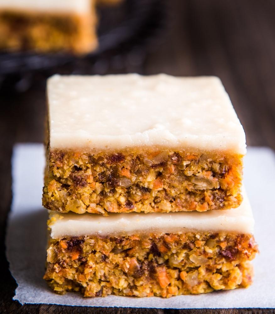 Recettes Vorwerk: délicieux gâteau aux carottes.