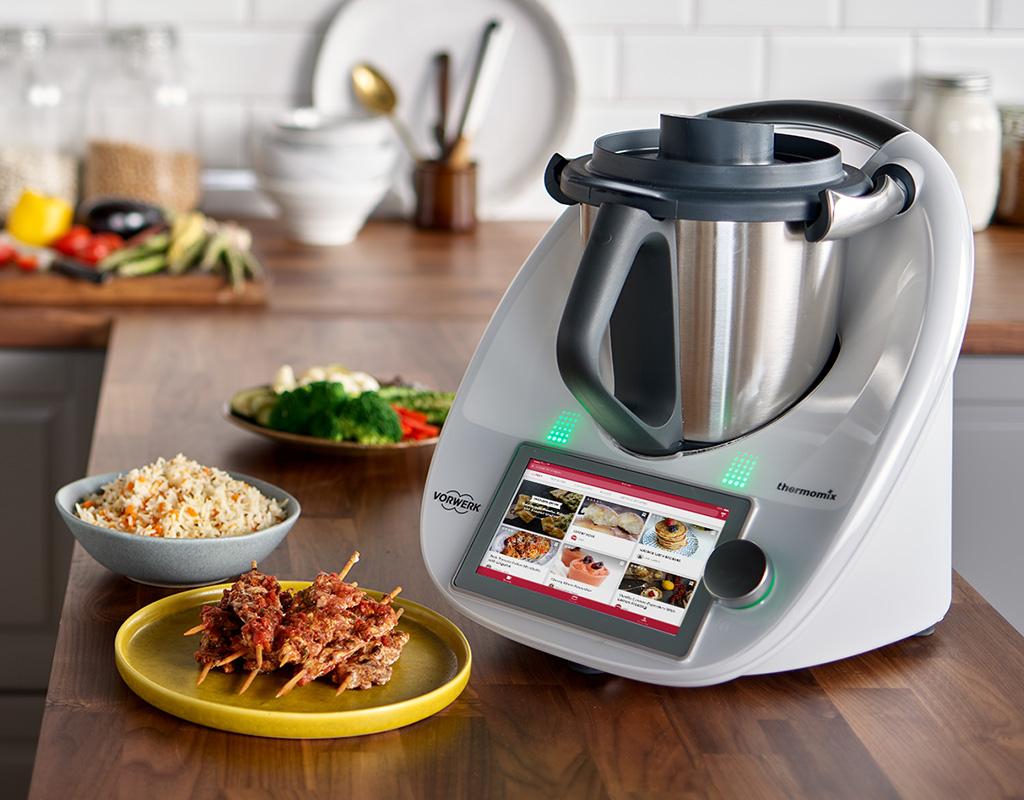 Thermomix- le robot de cuisine multifonctionnel.