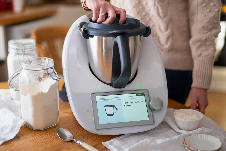Robot de cuisine Thermomix.