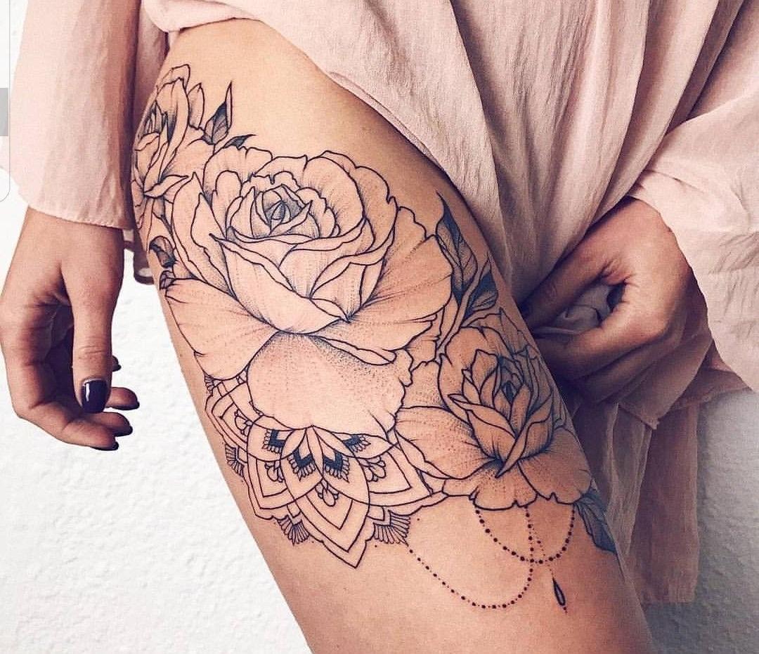 Les roses sont une option préférée.