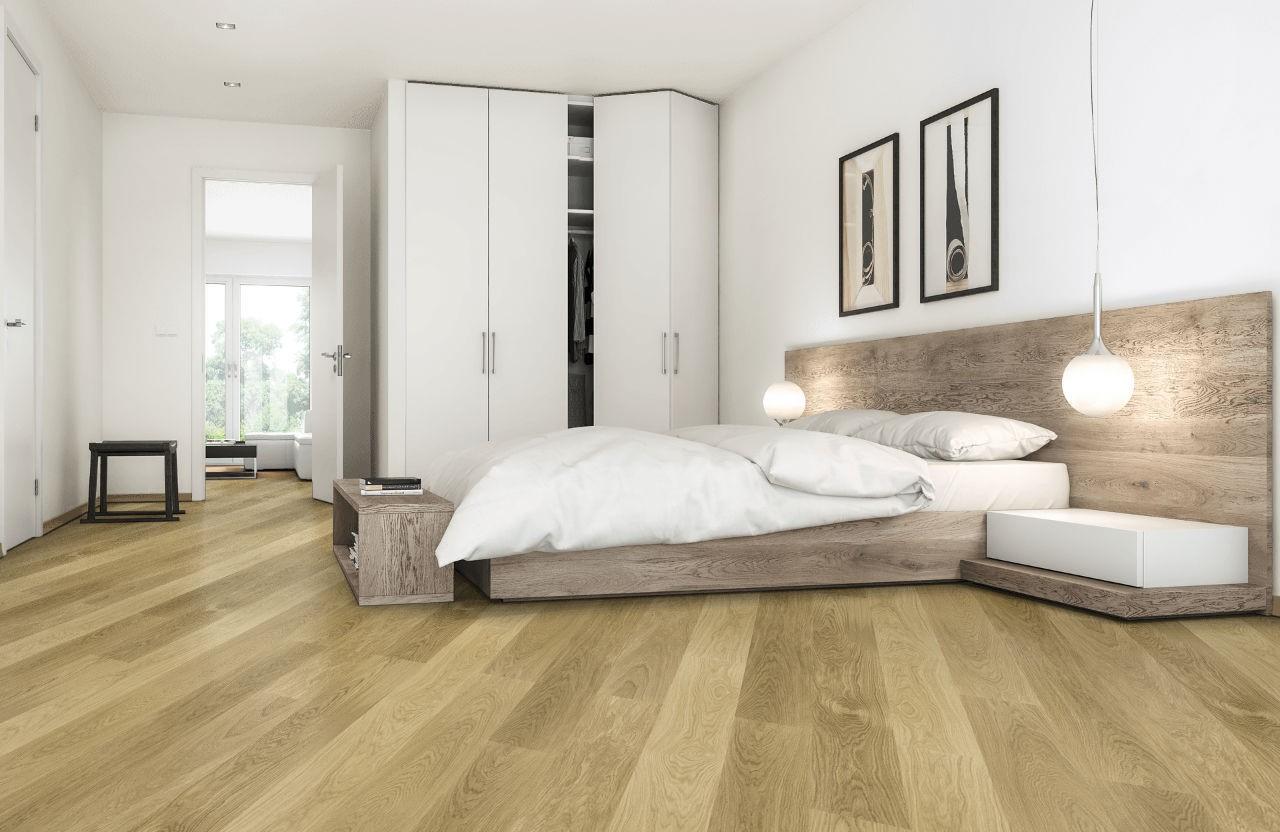 Tendances parquet en 2020: Évitez les nuances jaunâtres du bois cette année.