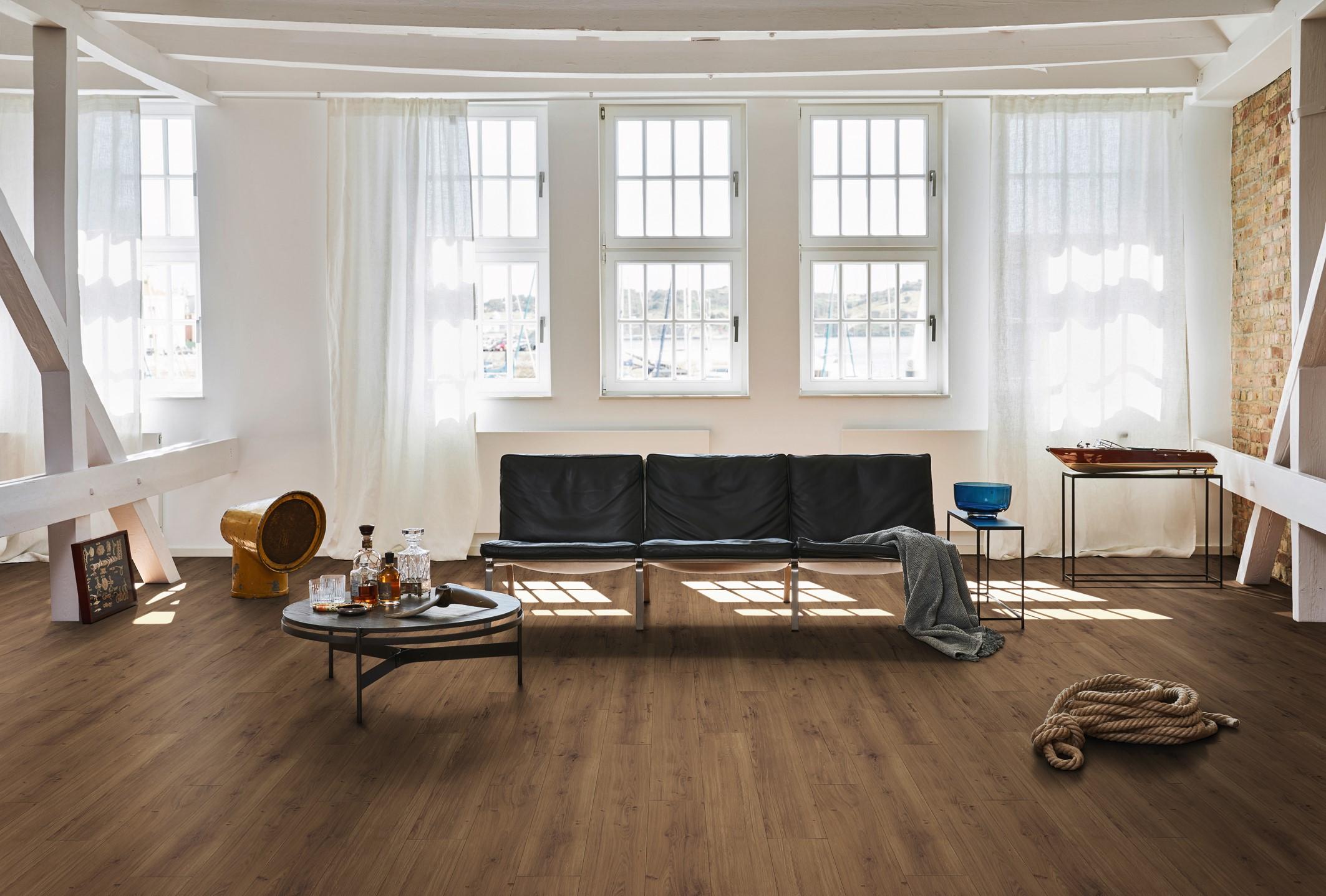 Plancher en bois pour votre salon.