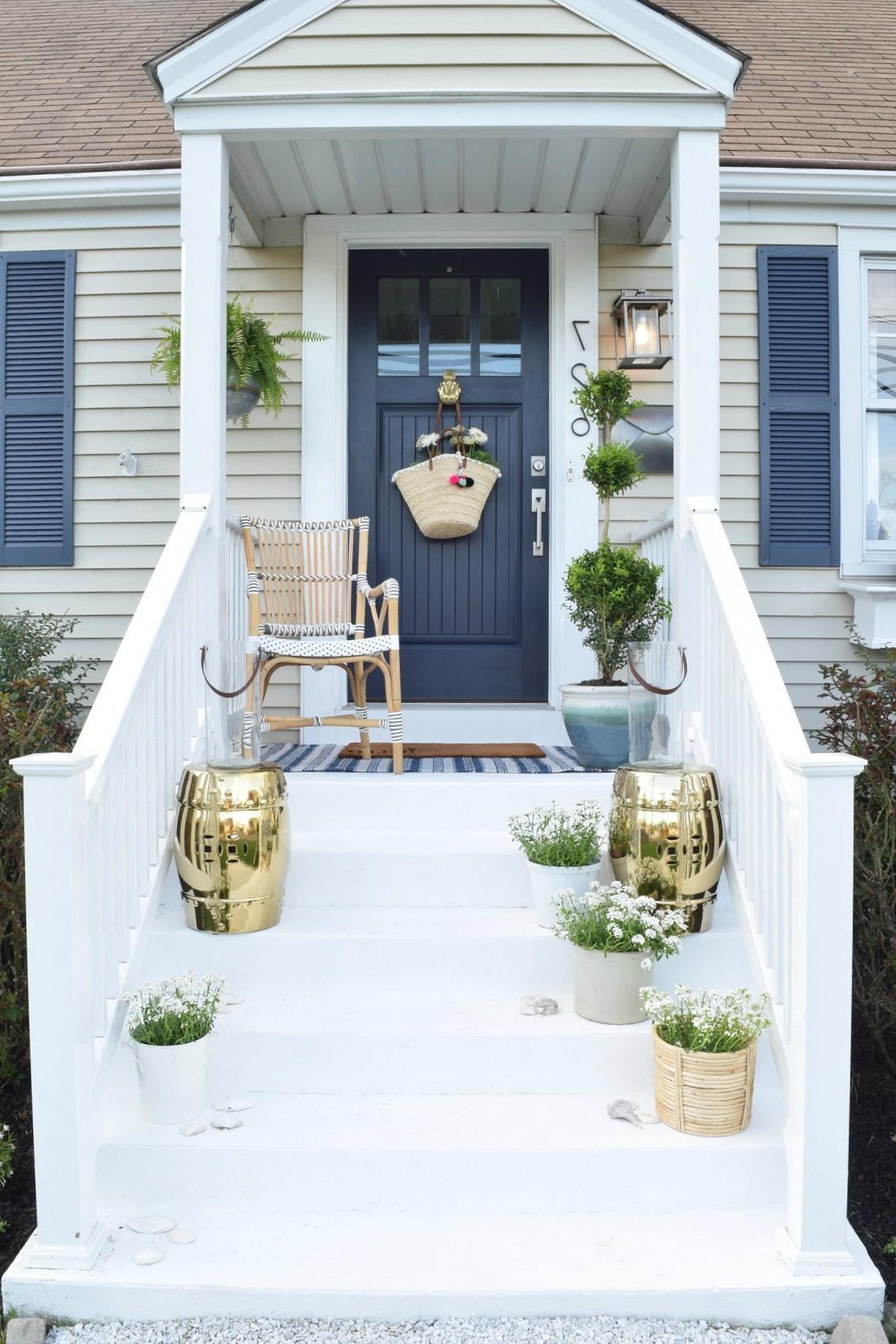 Améganement de porte d'entée: c'est très important pour l'ambiance extérieure de votre maison.