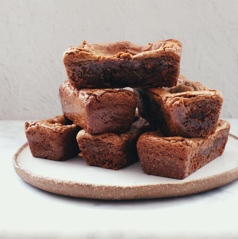 Brownies préparés au Thermomix.