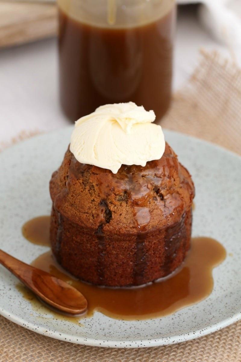 Pudding au chocolat.