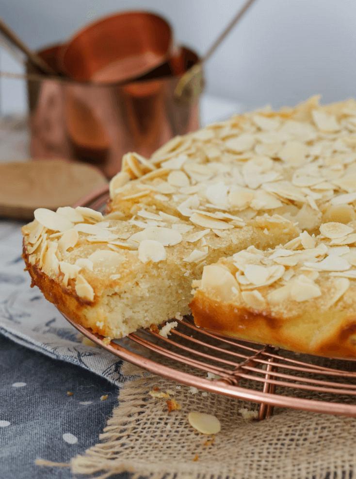 Gâteau au amandes facile à préparer.