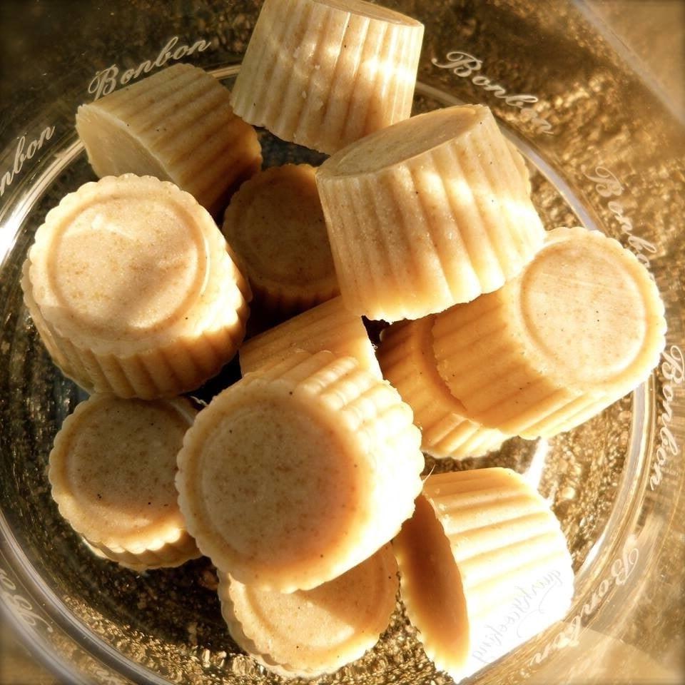 Bonbons préparés au Thermomix.