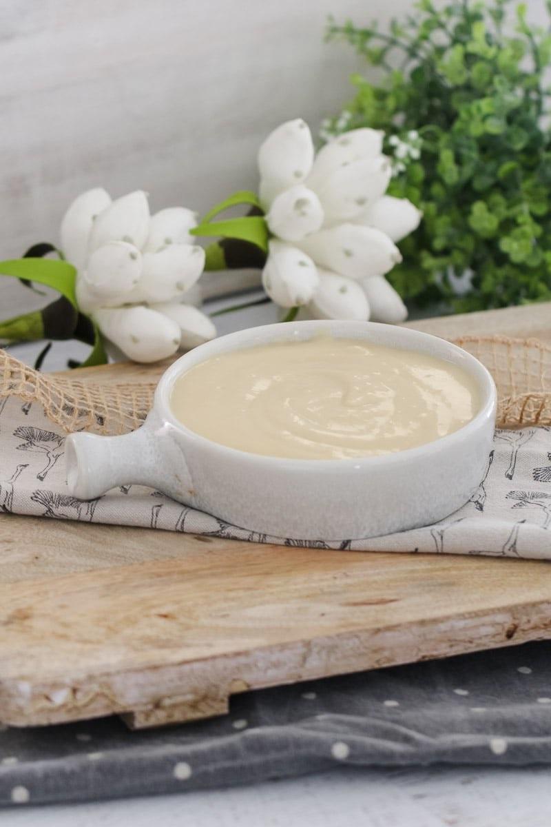 Crème vanille facile à préparer.
