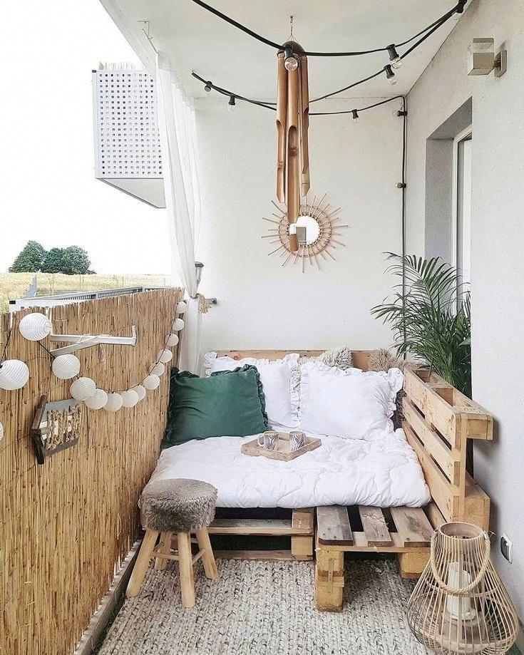 Solution bon marché pour votre balcon.