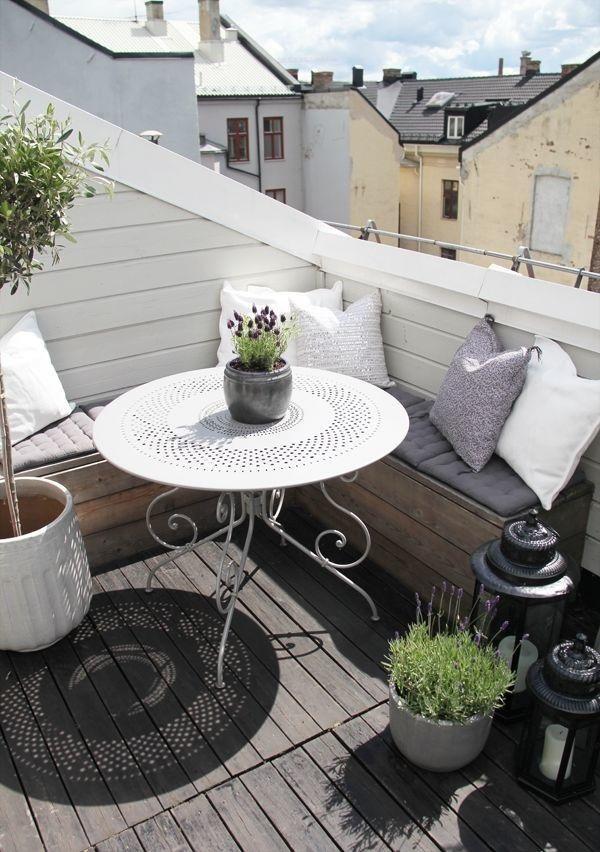 Avoir un balcon est une vraie bénédiction lorsque vous vivez en appartement.