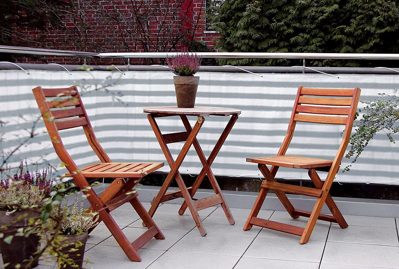 Transformez votre balcon en créant une atmoshere plus intime.