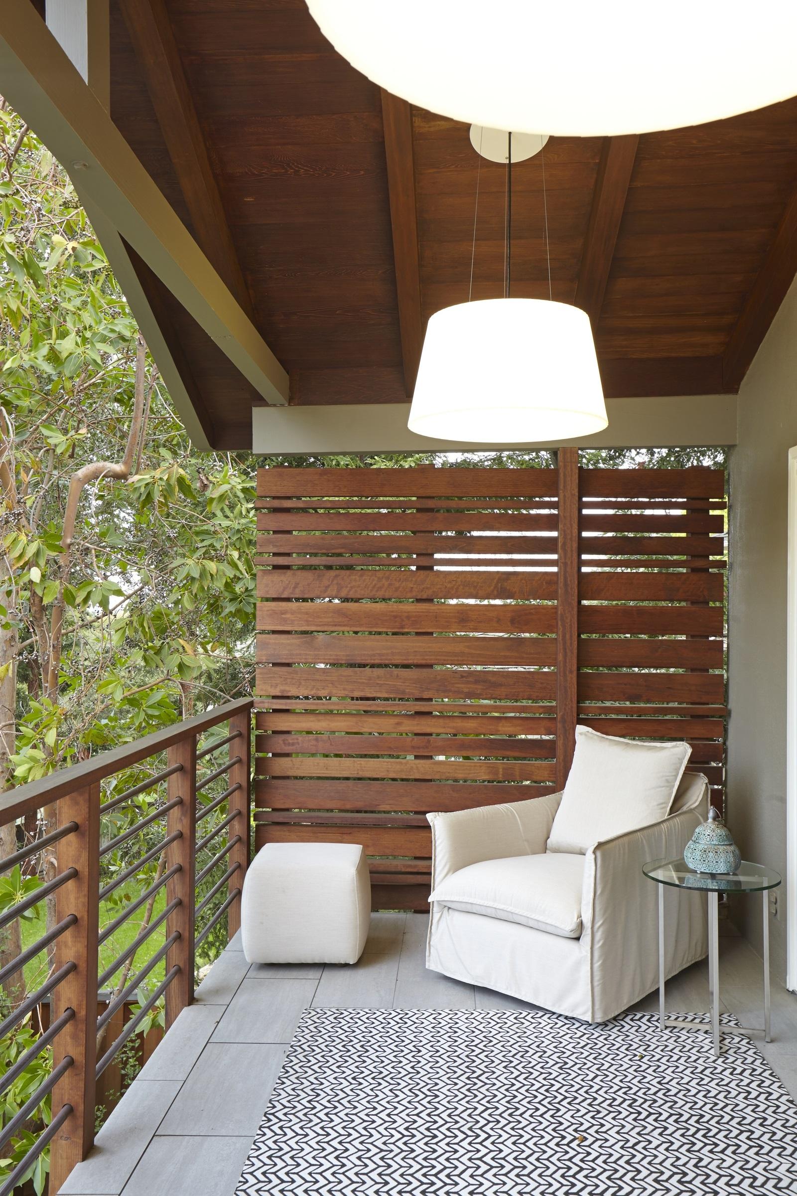Brise-vue pour balcon bricolage.