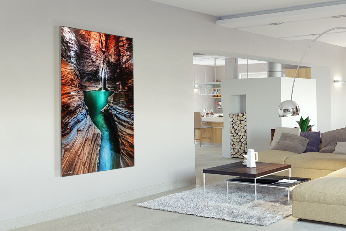 Acrylic prints lend a 3D feel to your photography that canvas simply cannot emulate.
