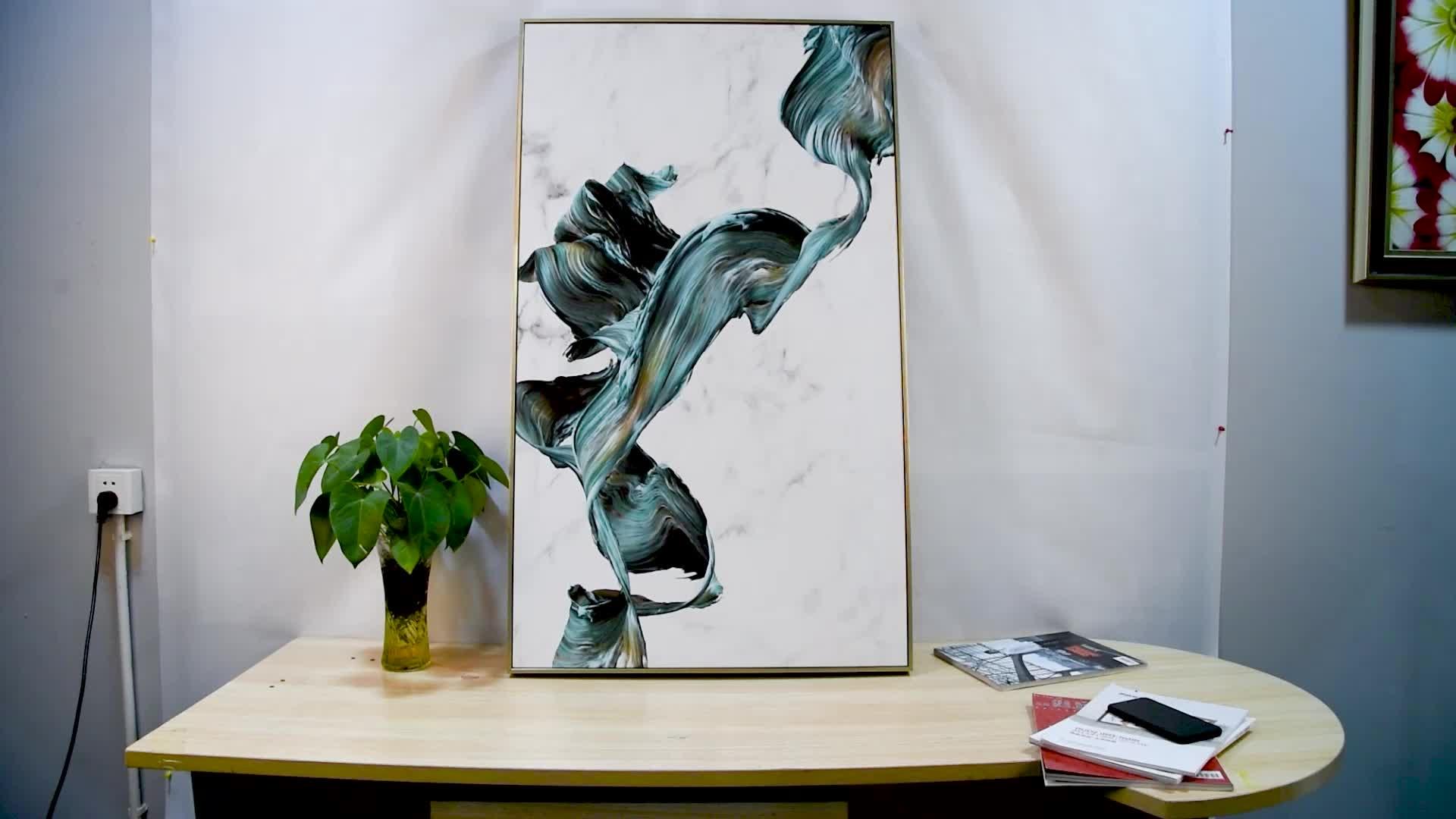 Les impressions acryliques peuvent durer beaucoup plus longtemps que les impressions sur toile.