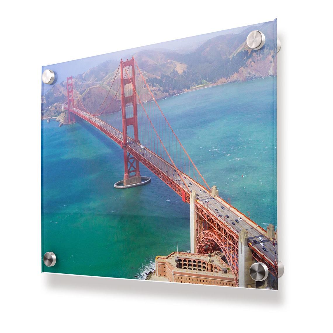 Les photos ont une apparence 3D quand on les imprime sur Plexiglas.