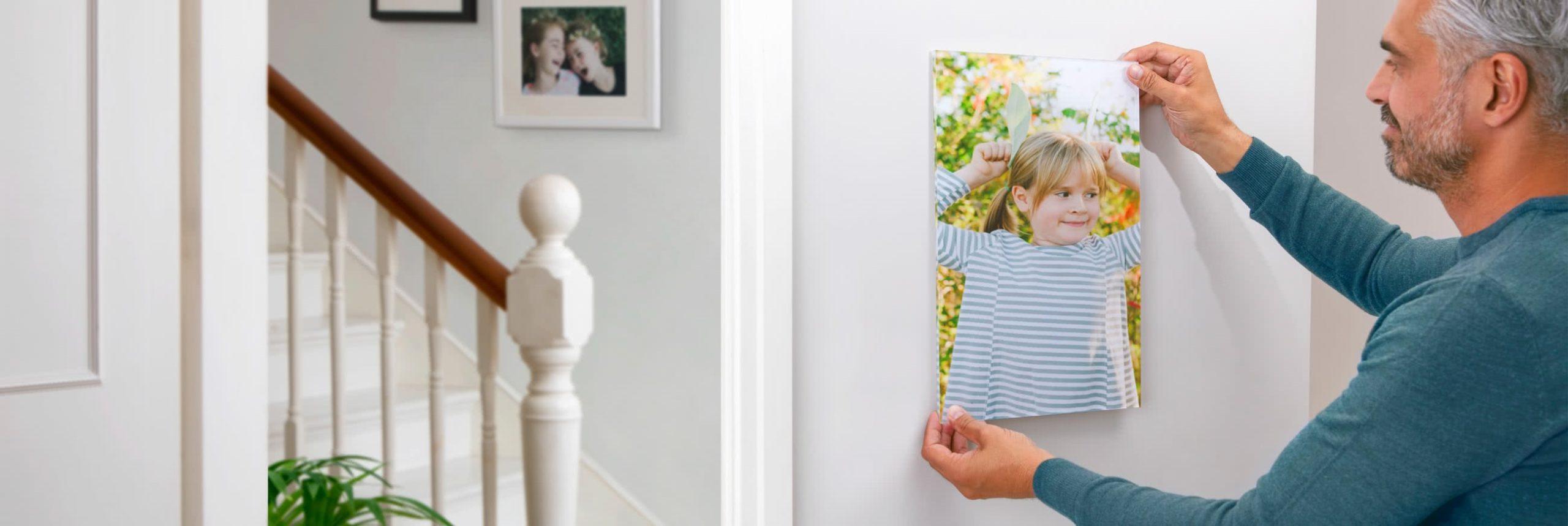 Réservez les photos les plus précieuses à imprimer sur acrylique.