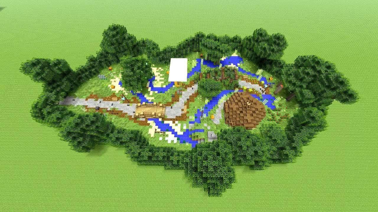 Plan de jardin complexe.