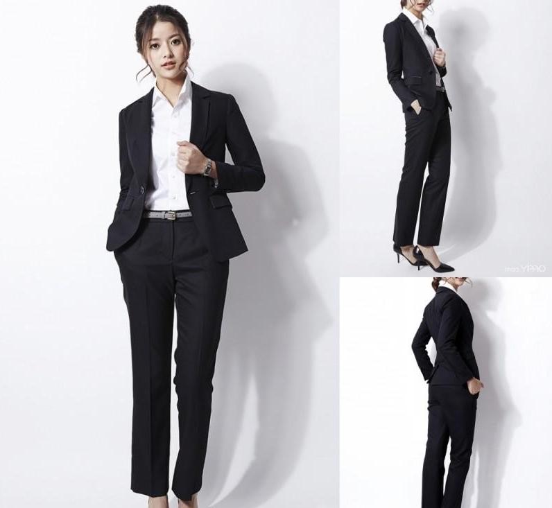 Costume femme classique en noir