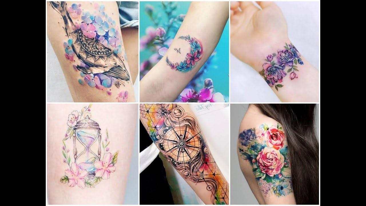 Idées de tatouage de couleur.