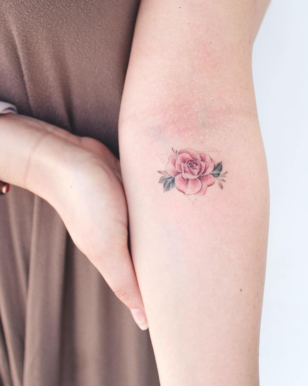 Rose minimaliste.