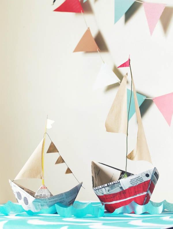 Superbes bateaux bricolage.