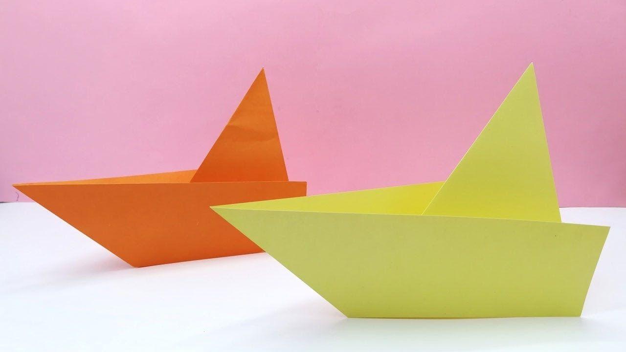 Variation du bateau en papier.