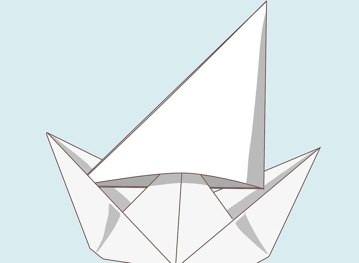 Astuce intelligent pour la fabrication de votre bateau en papier.