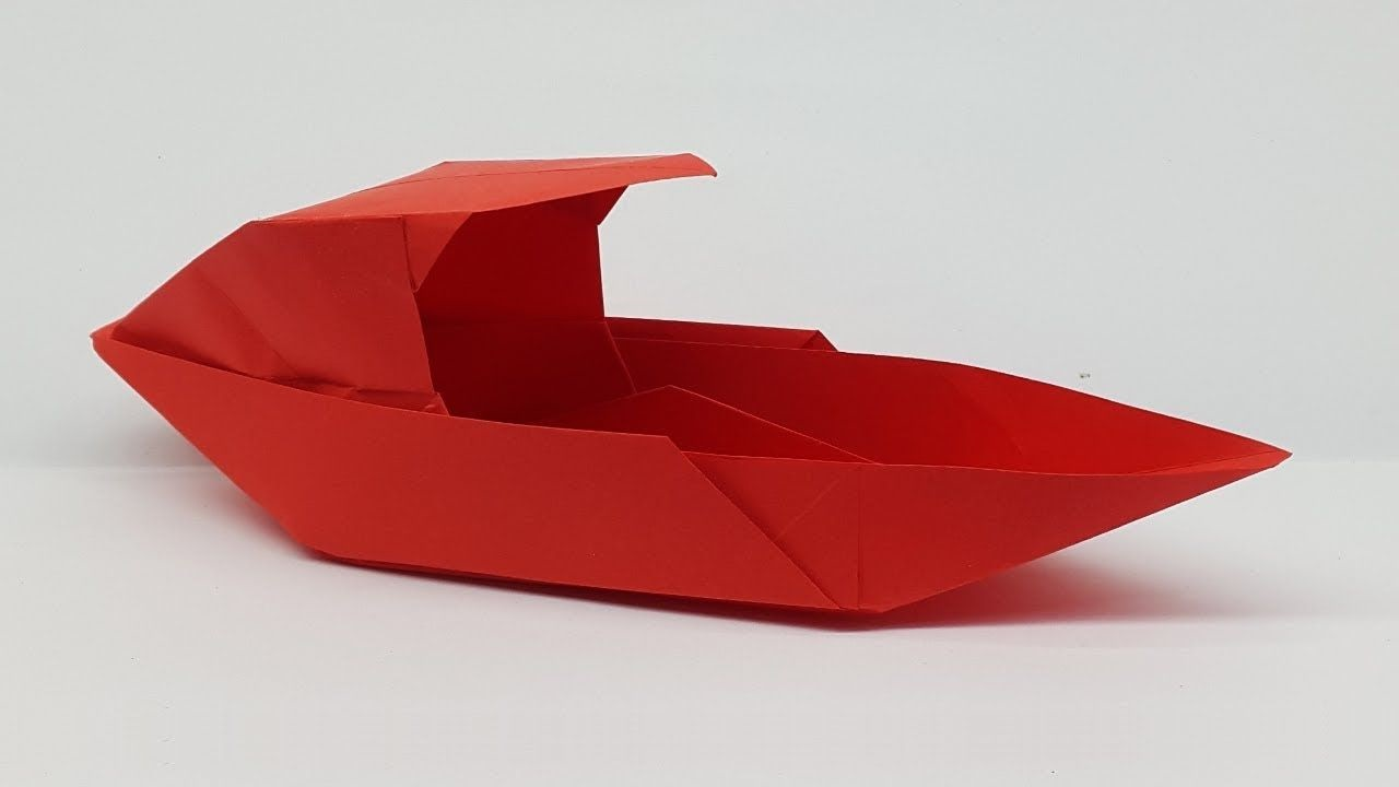 Origami bateau.