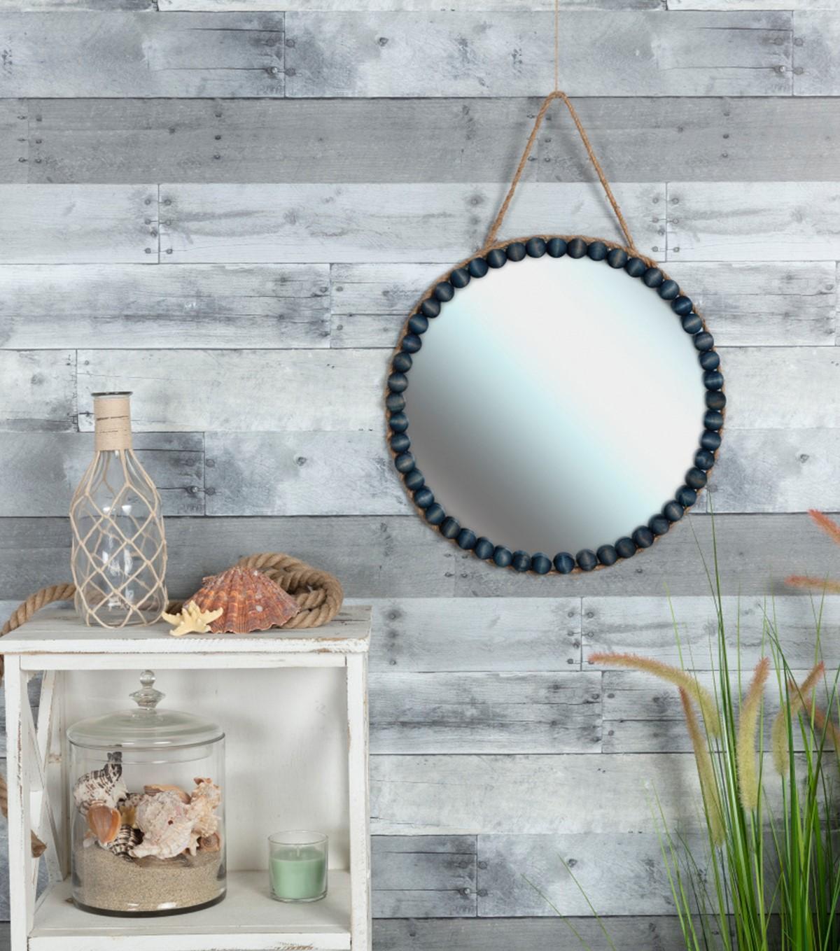 Miroir de style marin.