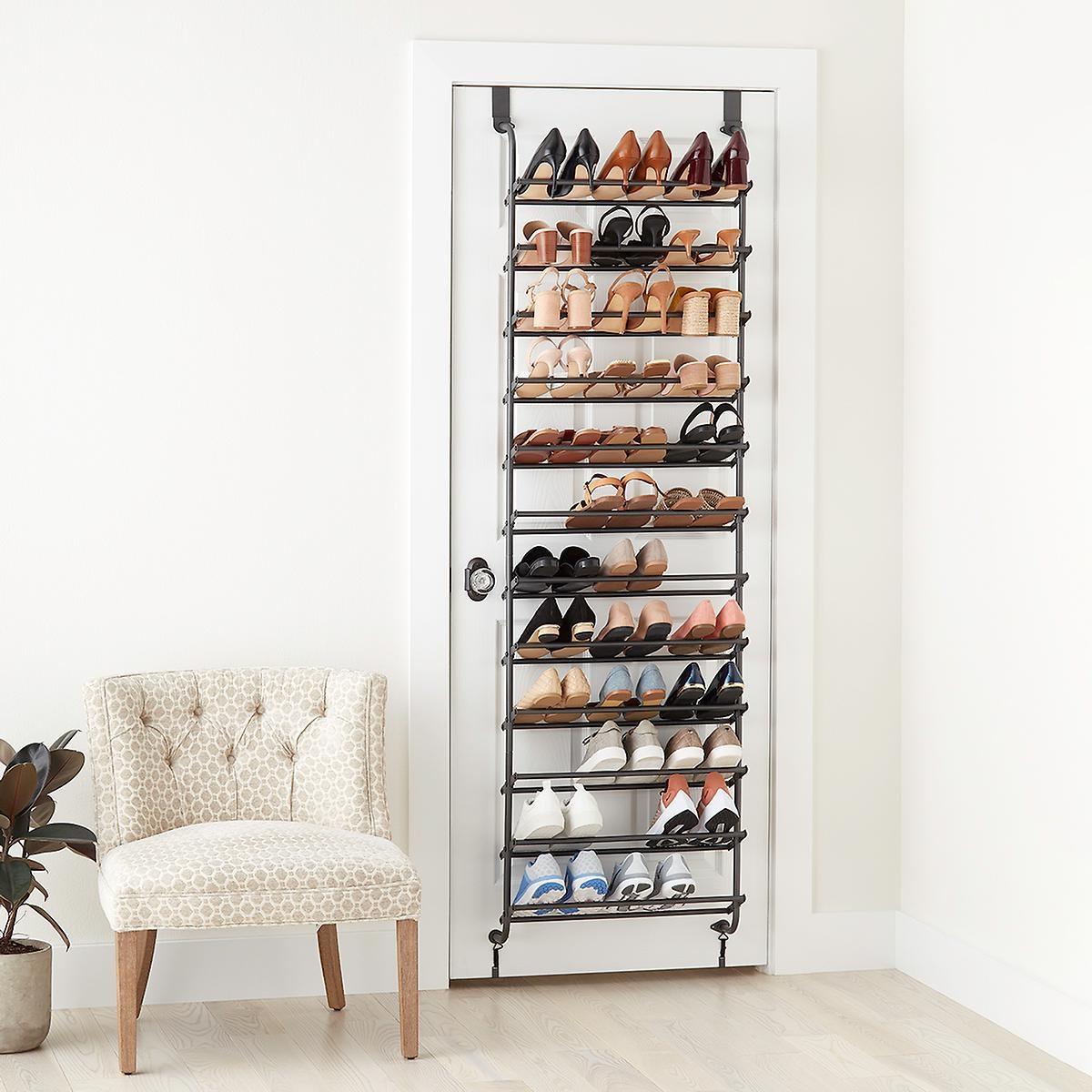 Idée de rangement pour les chaussures.