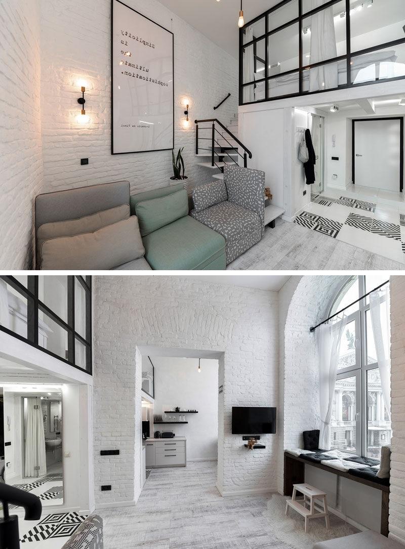 Idées de salon mezzanine: ajouter des fenêtres pour avoir plus d'espace privée.