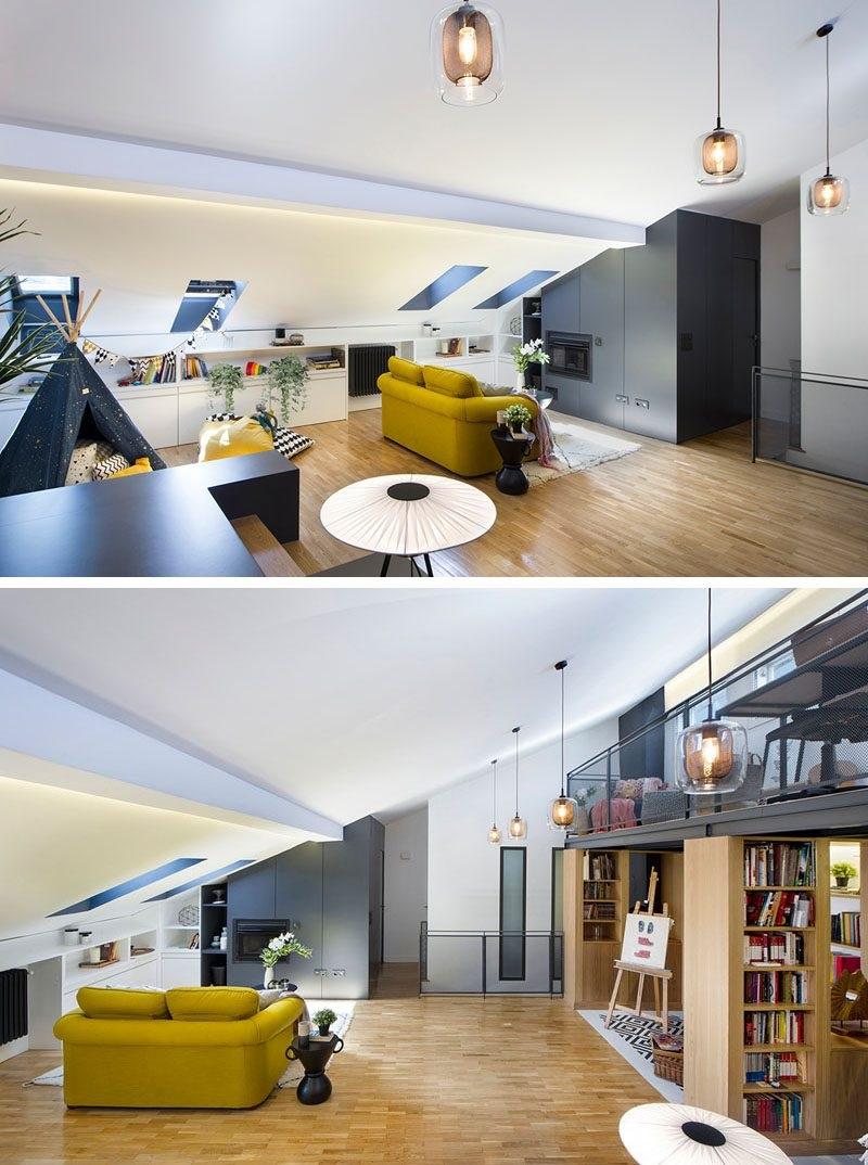 Idées de salon mezzanine 2020.