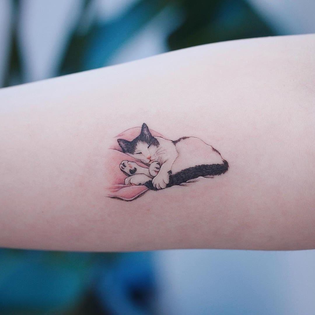 Idée de tatouage avec votre ami de compagnie.