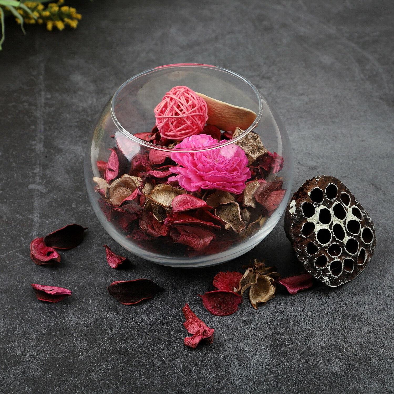 Mettez le produit final dans un joli vase en verre.