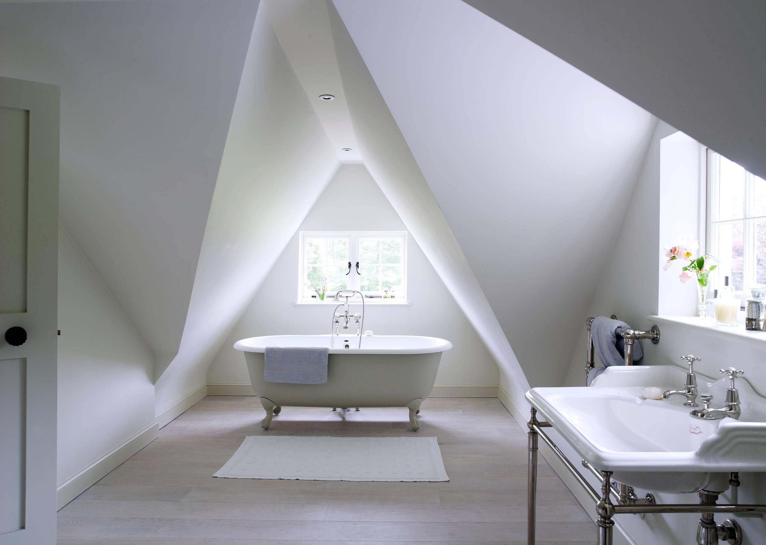 Salle de bains sous pente 2020.