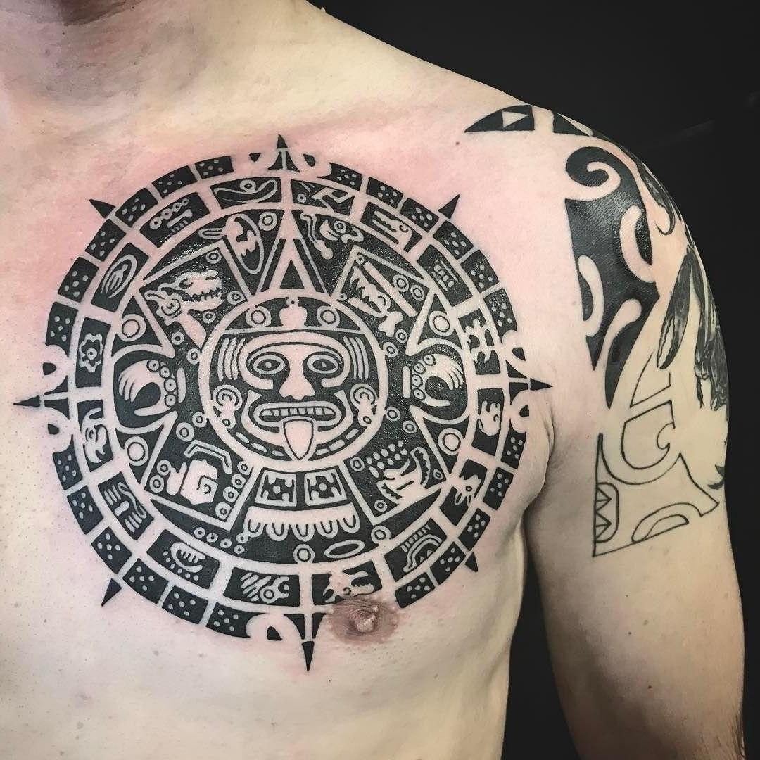 Tatouage maya.