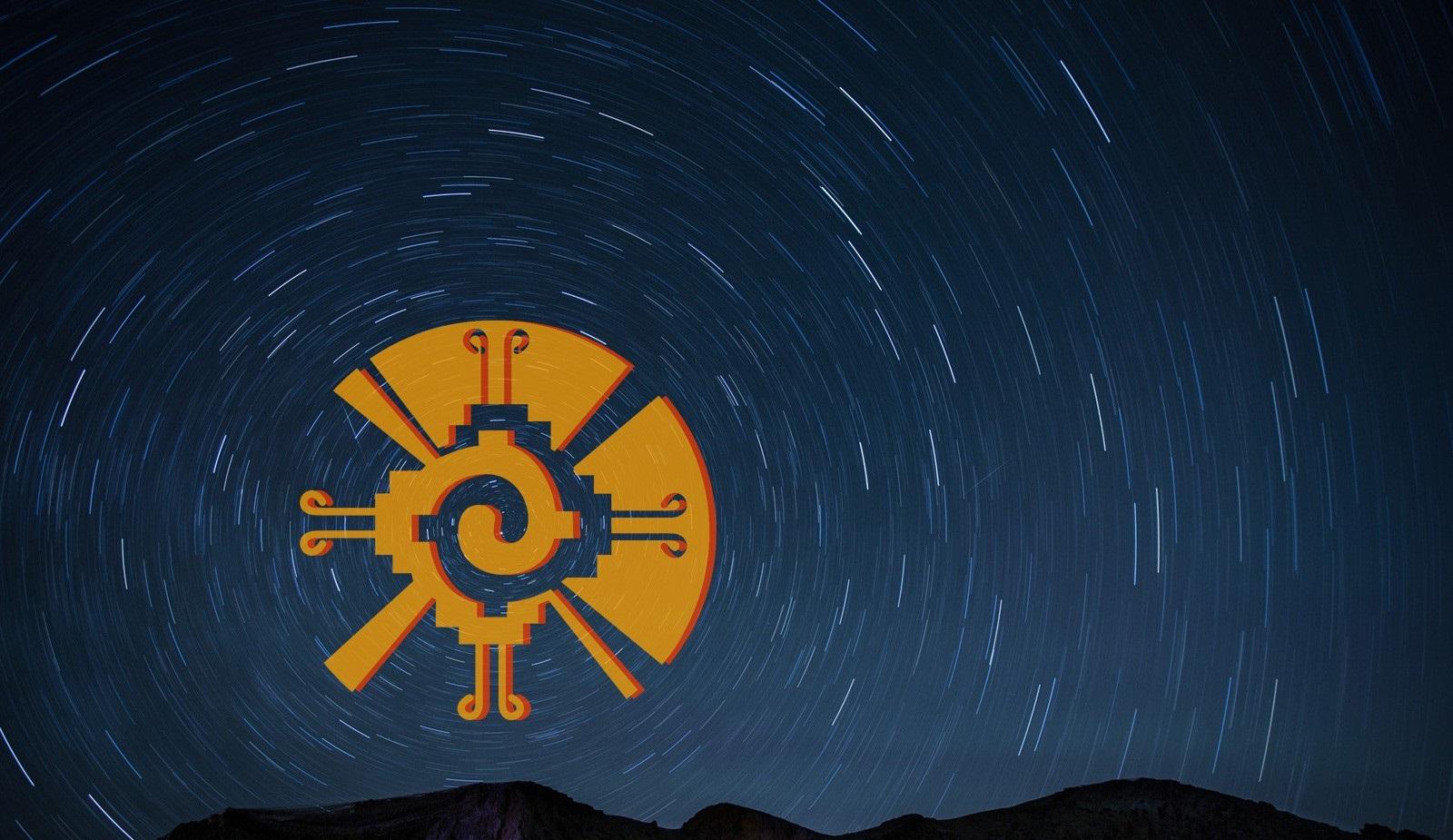 Le symbole Hunab Ku.