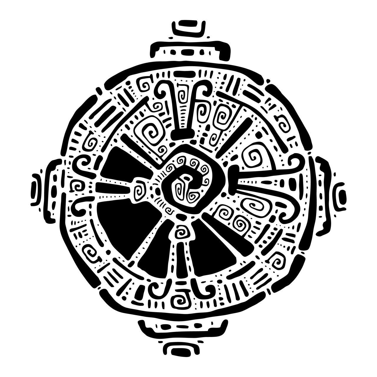 Symbole maya.