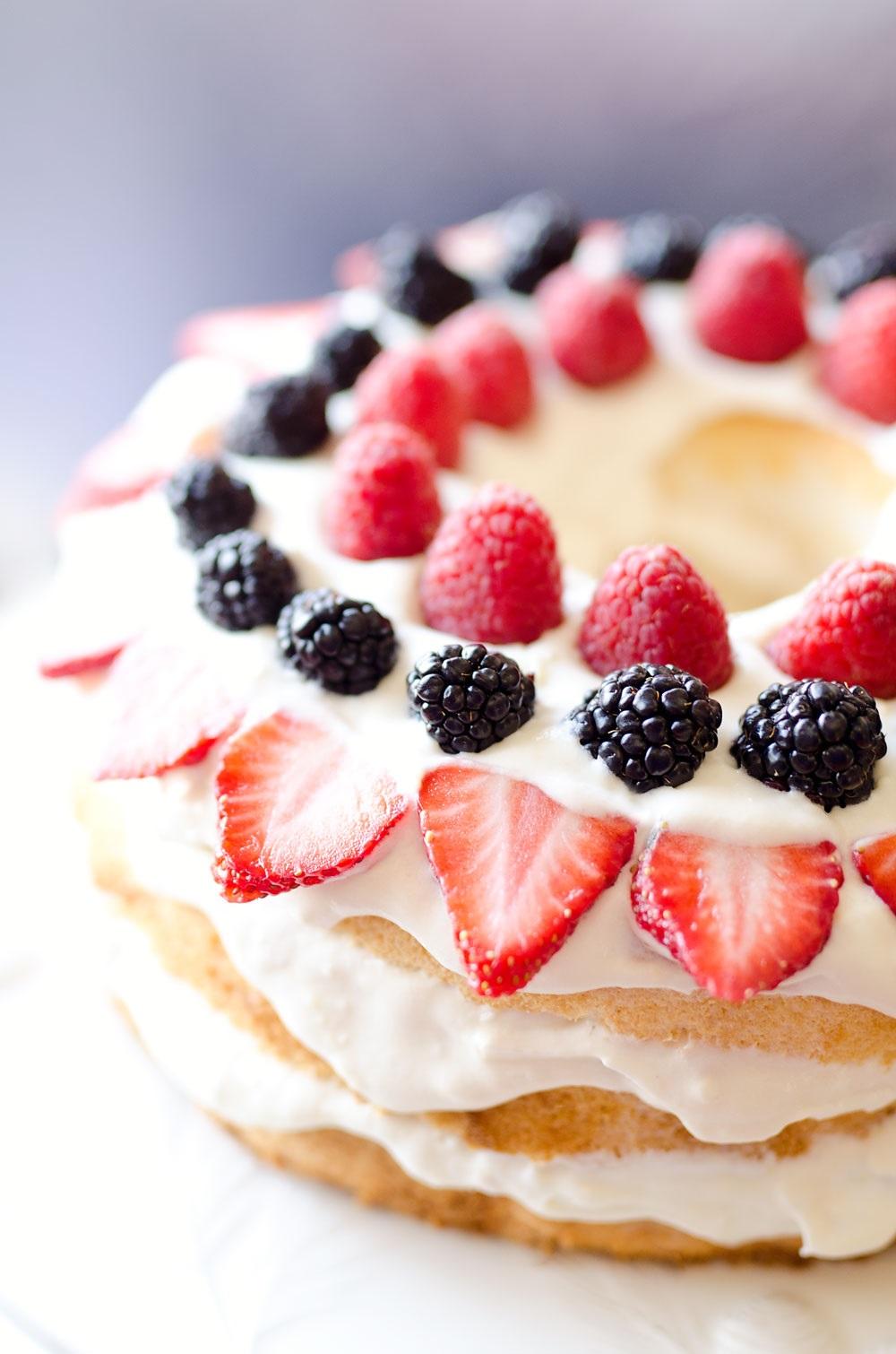 Idée de recette à base de petits fruits.