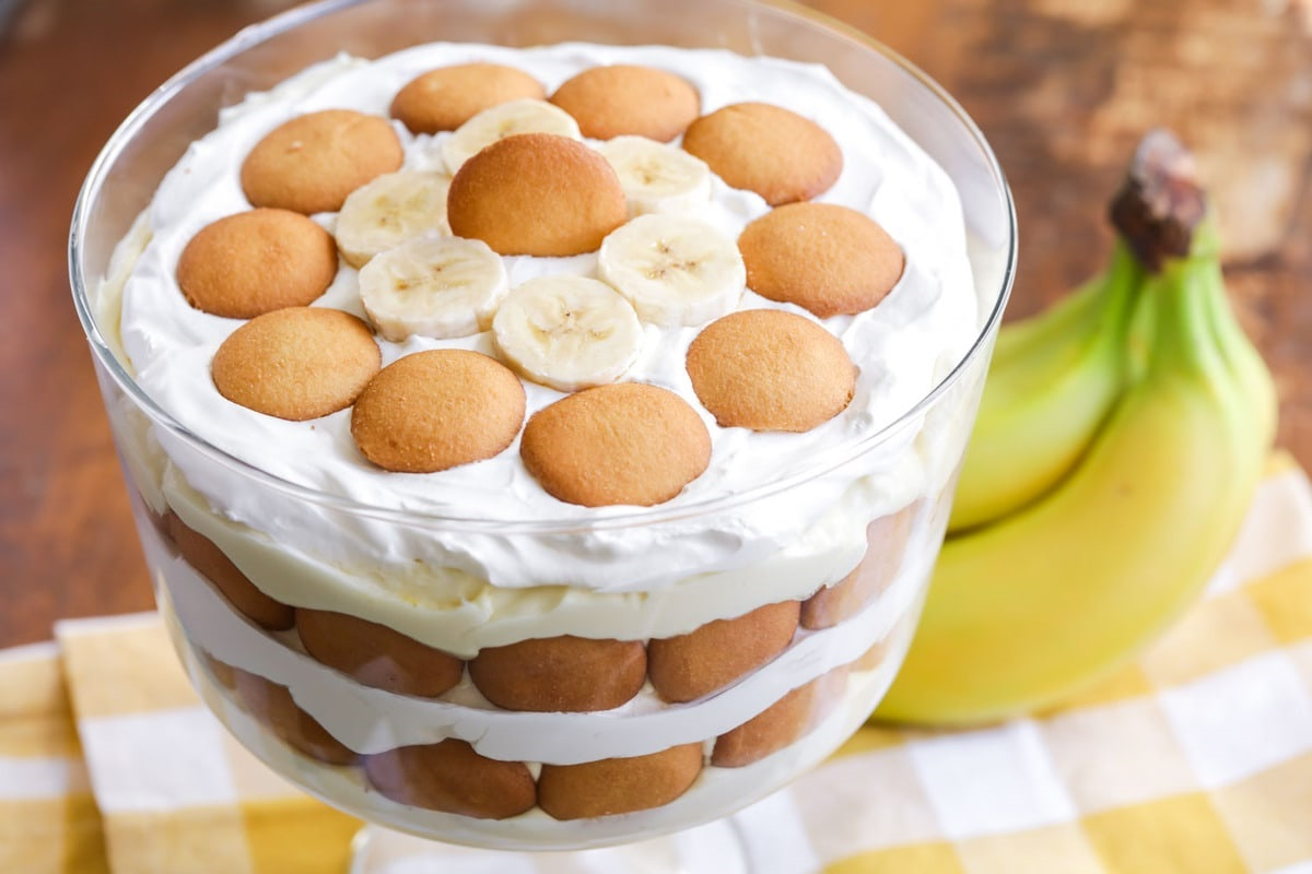 Trifle anglais traditionnel.