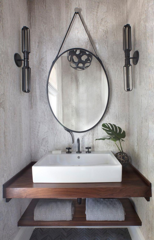 Luminaire de salle de bains.