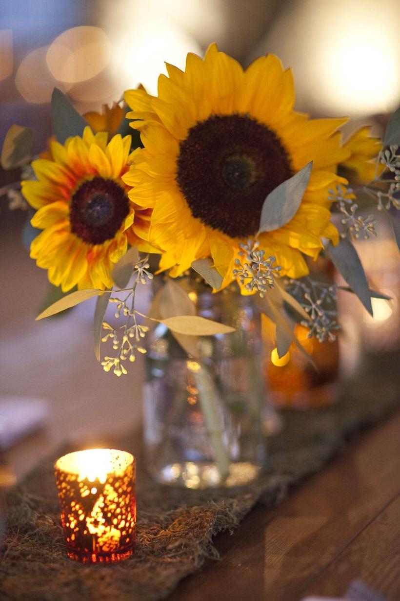 Profitez du thème de l'automne pour votre journée spéciale.