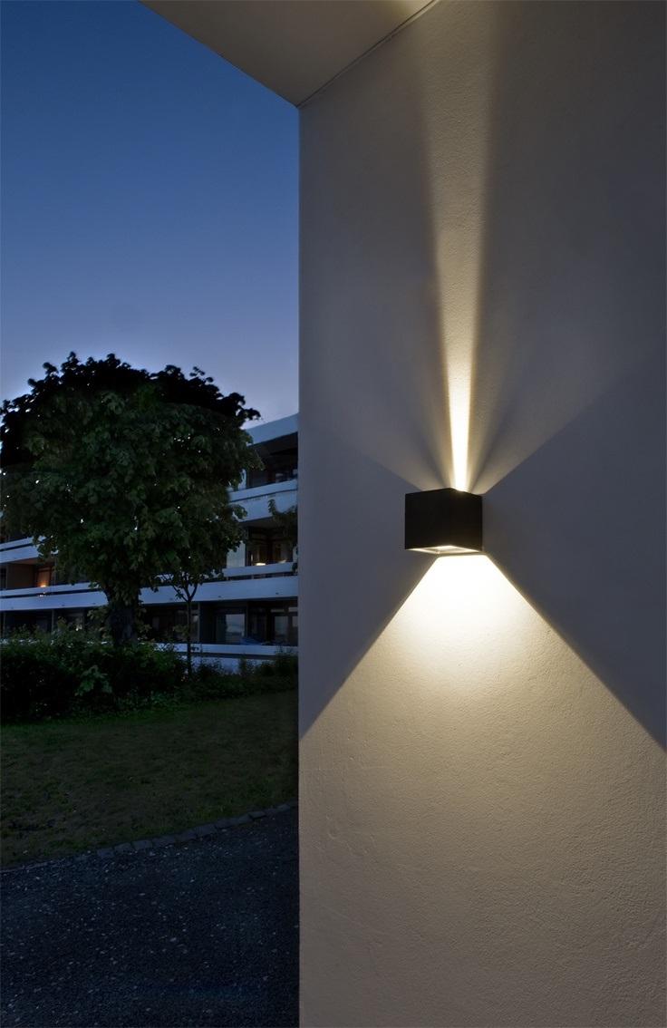 Projecteur LED extérieur.