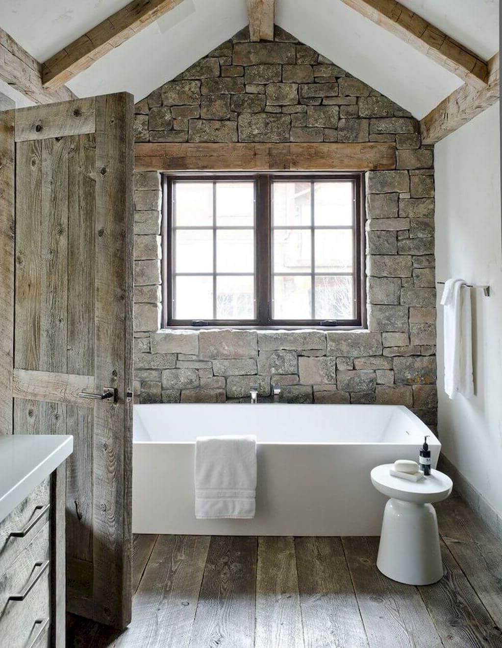 Salle de bain anglaise.