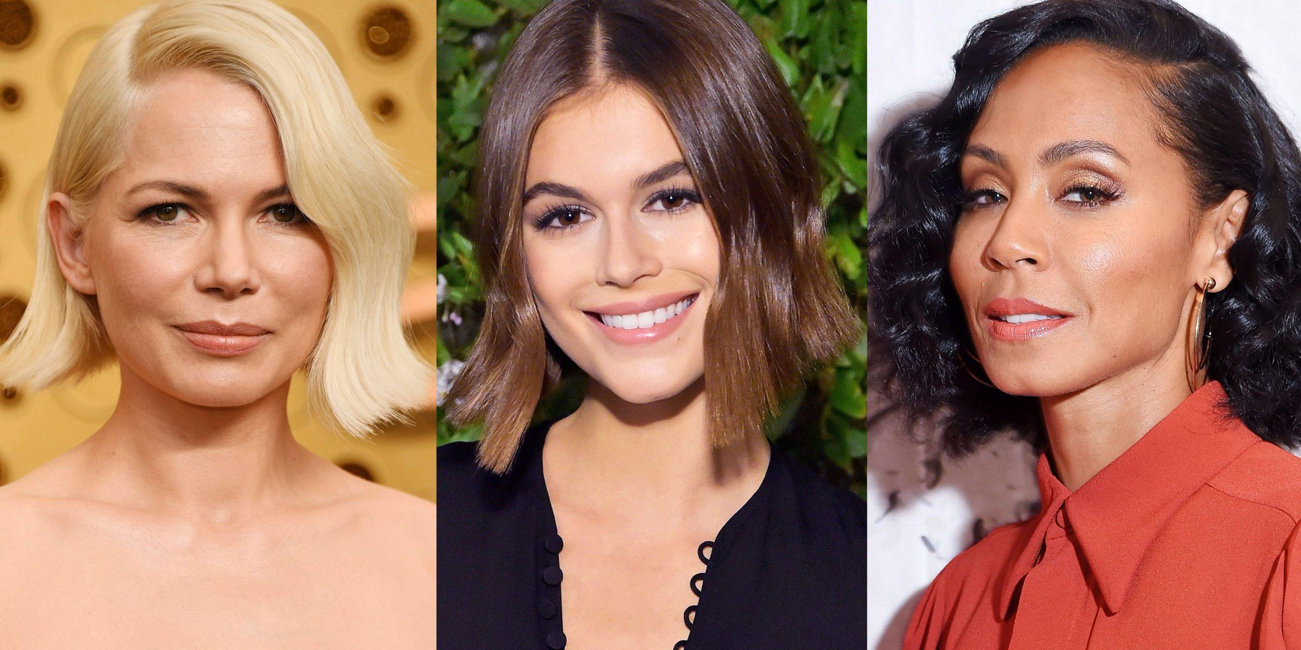 15 meilleures idées de coupe courte pour visage rond - Coiffures - ZENIDEES