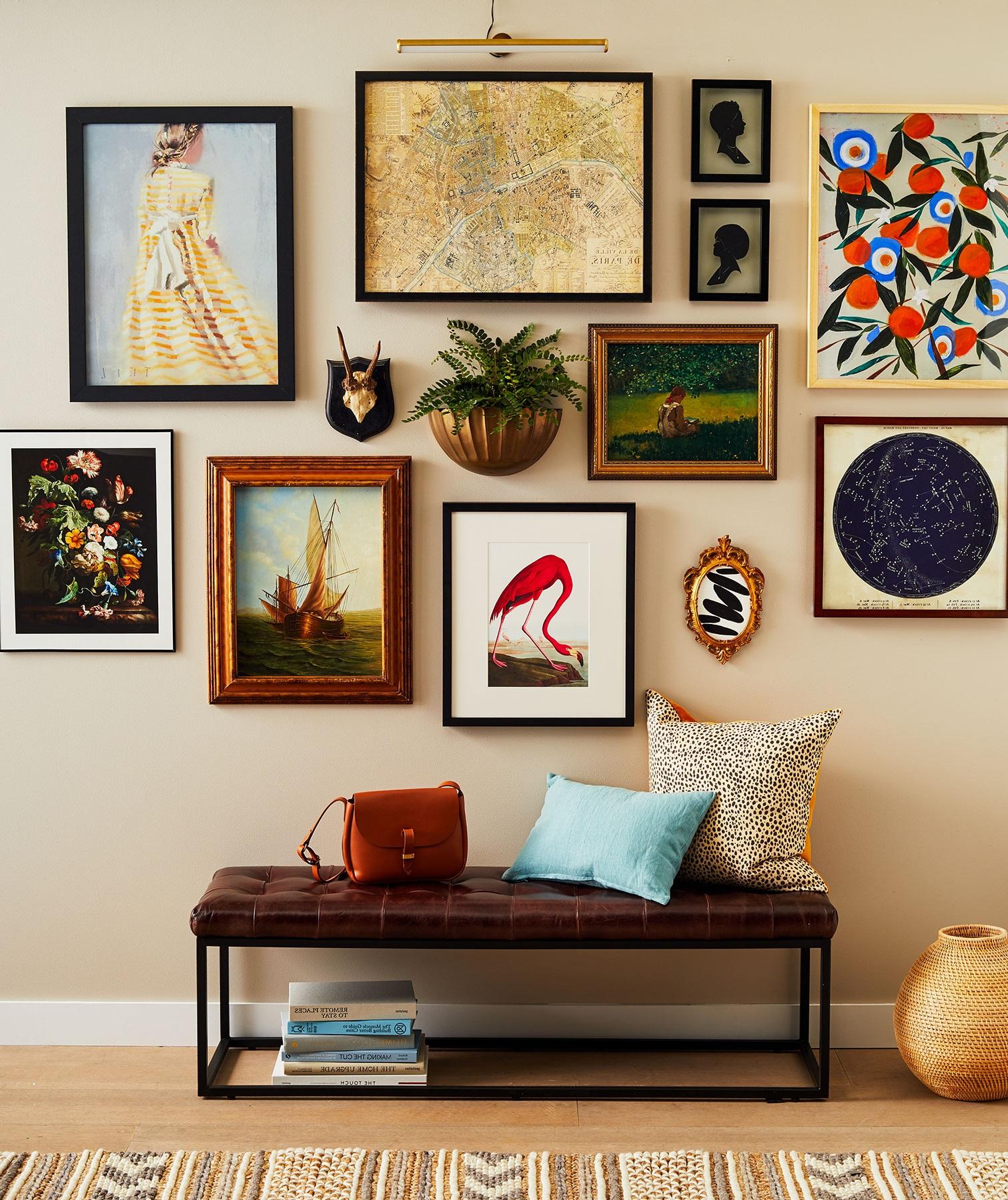 N'hésitez pas de mélanger les styles et les formes de décorations différentes.