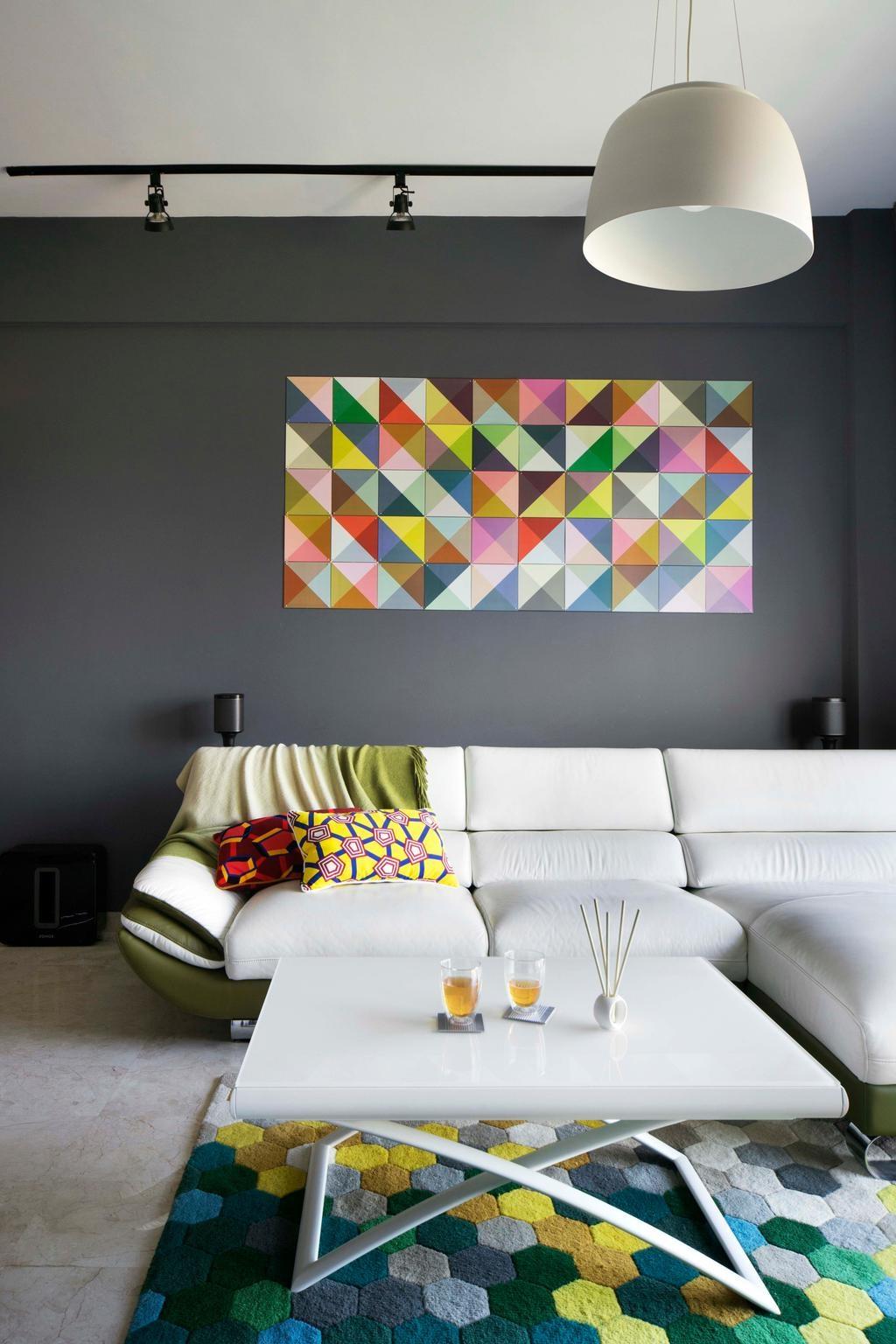 Décoration murale et peinture salon 2020.